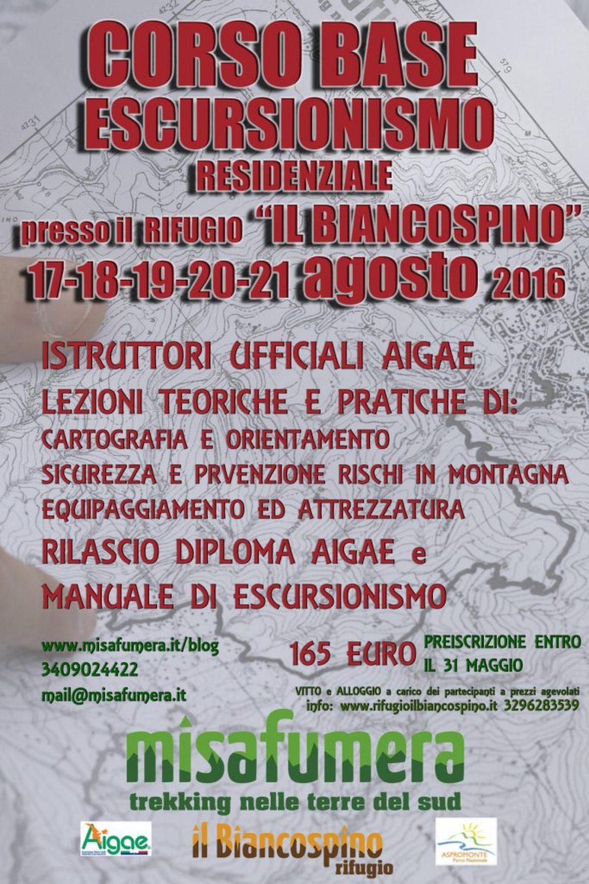 Ad agosto tutti in montagna al Corso Base di Escursionismo!